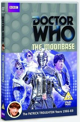 DR WHO 033 (1967) - THE MOONBASE - TV Doctor Patrick Troughton - NEW R2 DVD