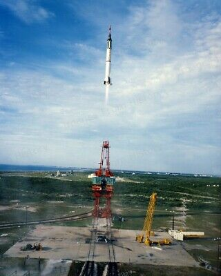 8x10 Print NASA Project Mercury Lift Off  #5501238