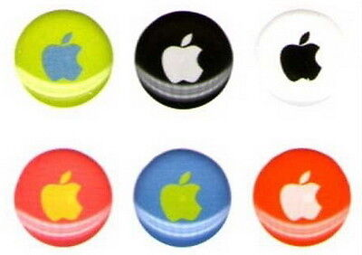 6pcs Home button sticker For Apple iPhone 4G 4S 3G 3Gs itouch iPad 2--18 design