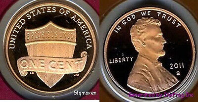 2011 S Union Cent Deep Cameo Gem Proof