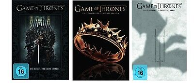Game of Thrones Staffel 1-3 (1+2+3) DVD Set NEU OVP