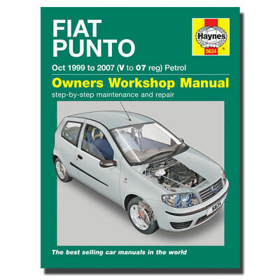 haynes manual fiat punto petrol 99 07 car repair workshop manuals rh picclick co uk fiat punto mk2 workshop manual fiat punto mk2 haynes service and repair manual .pdf
