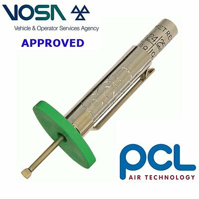 PCL VOSA Approved Tyre Tread depth gauge motorbike truck car tyre check