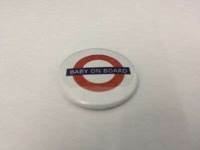 Baby On Board - 25mm/1 inch Button Badge