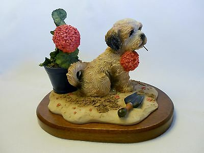 "The Hamilton Collection Inspired By Jim Lamb ""Weekend Gardener"" 1990 Lhasa Apso"