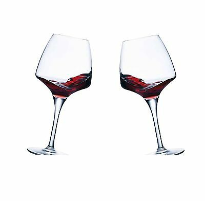 Chef and Sommelier 2 DISHWASHER SAFE RED WINE GLASSES  MODERN & FINE