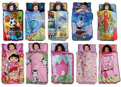 Kids Boys Girls Nap Mat - Multiple Tv/disney Characters