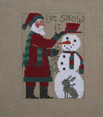 Prairie Schooler Counted Cross Stitch Yearly Santa's 1985-2019