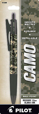 Military Camo Ball Point Pen (Army) by Pilot. Your Purchase Supports Our Troops!