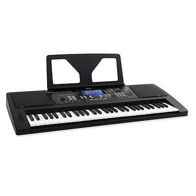 Black Usb Controller 61 Key Electric Keyboard Portable Piano Dj Recording Music