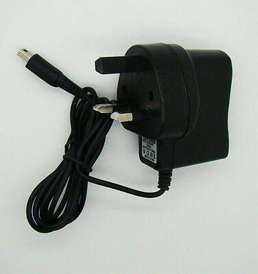 UK Plug Nintendo 3DS Charger AC Adapter 3DS XL, DSi XL & DSi New Power Supply
