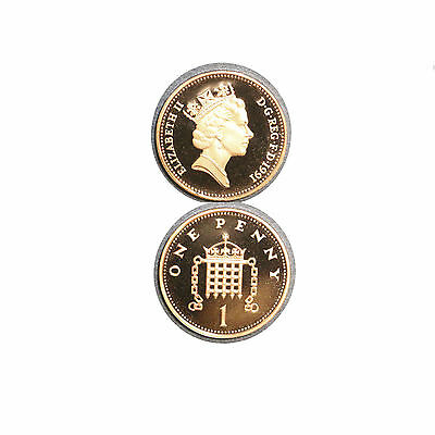 1991 Great Britain 1 Penny  Proof