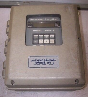 New Rosemount 1054 A Enclosed Total Free Chlorine Analyzer 115 Vac