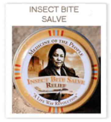 Navajo Medicine Of The People Insect Bite Salve - Pain Swelling Itch of Bite New