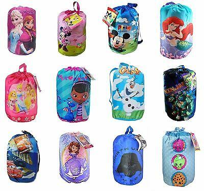 Disney, Frozen ,Avenger, Star Wars, Doc Indoor Slumber Sleeping Bag For Kids