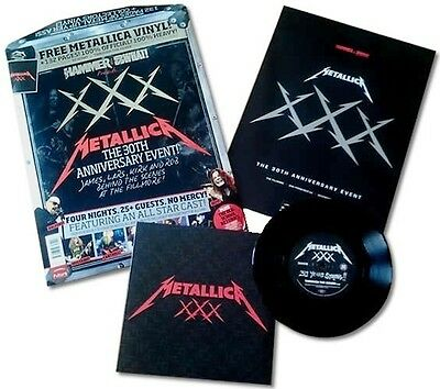 METAL HAMMER & SO WHAT! Presents METALLICA 30th ANNIVERSARY EVENT - VINYL + MAG