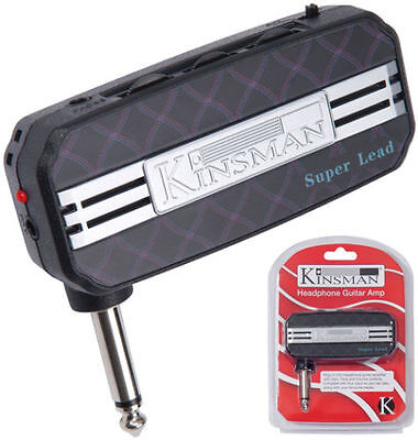 Kinsman KAC701 Super Lead Headphone Guitar Amplifier - Plug in practice amp