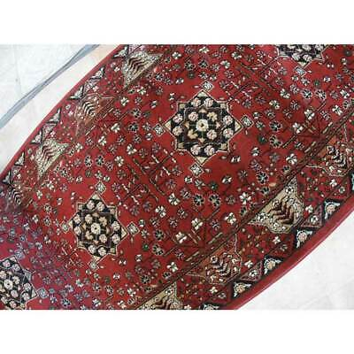 Hallway Runner Carpet Rug Red HS Poly 80cm Wide Tavernelle Per Metre Floor New