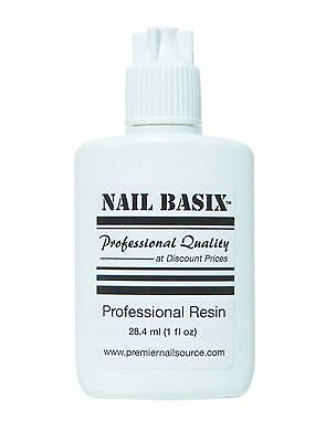 Nail Basix 28.4ml (1oz) Professional Resin with Extender Nozzle Applicator