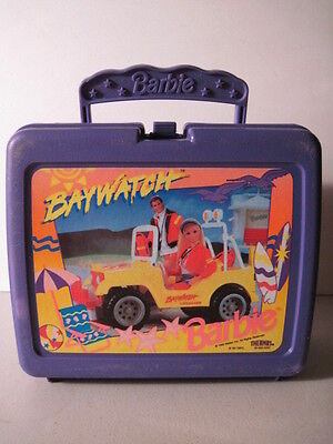 Baywatch Barbie Lunchbox, No Thermos! (Used) 1995!