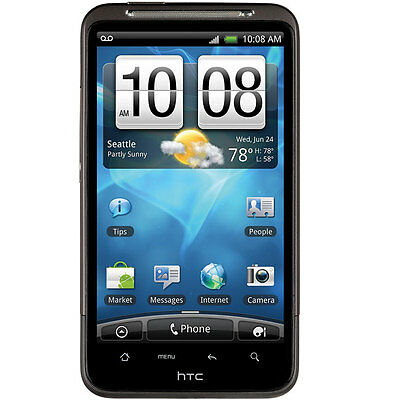 Htc Inspire 4g Black Smartphone Unlocked 8mp Camera Wifi Gsm Android Gps FREE SH