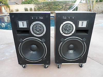Vintage Phase Linear P-580 Speakers by Pioneer TAD RARE Matched  Pair