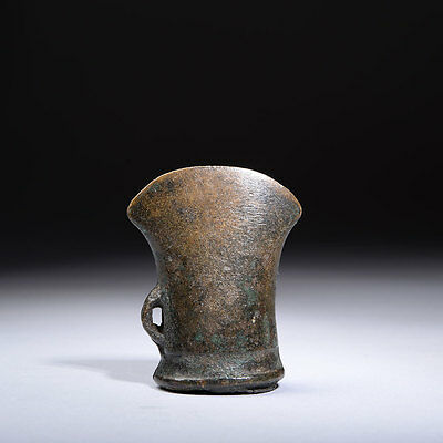 European Bronze Age Looped Socketed Bag Axe - 900 BC