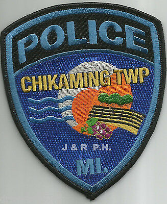 Chikaming Township, MI  shoulder police patch (fire)