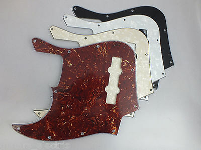 LEFT HANDED SCRATCH PLATE Pickguard to fit USA/Mex Jazz J Bass in 4 Colours