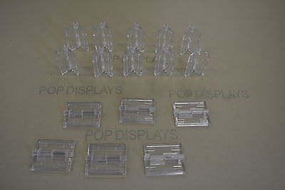 Acrylic Plastic Hinges Clear  Acryl-Hinge Set Of 16  -  Ch16