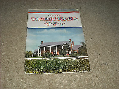 Vintage 1948 The New Tobaccoland U.s.a. Magazine. Very Rare.