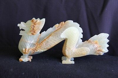 Dragon Statue - Solid Onxy/Marble - Hand Carved
