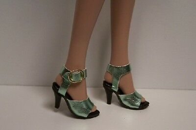 """Doll Shoes FOR 16/"""" Tyler Wentworth DEBs GRAY Luvable High Heel Hi-Heel"""