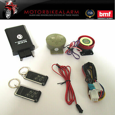 Ncs C-11 Talking Motorbike Motorcycle Alarm & Immobiliser Remote Control Start