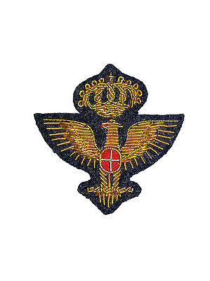 Royal Italian Army Staff Officer's Cap Badge small (reproduction)