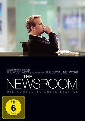 The Newsroom - Season/Staffel 1 * NEU OVP * 4 DVD Box