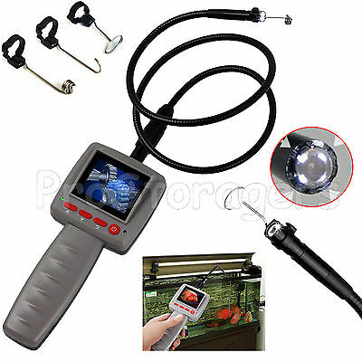 2.4 LCD Video Inspection Borescope 1m Endoscope Pipe 10mm Snake Scop LED Camera