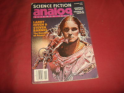 ANALOG SCIENCE-FICTION FACT PULP MAGAZINE October 1982