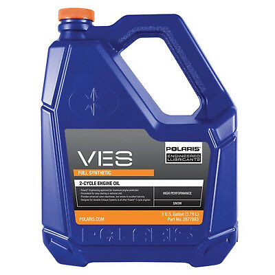 Polaris OEM Snowmobile/PWC VES II Full Synthetic Gold Oil Gallon 2877883