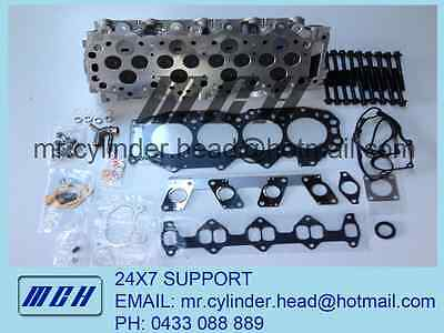 Complete Assembled Cylinder Head Kit Ford Courier Mazda Bravo B2500 WL-T WLT 2.5