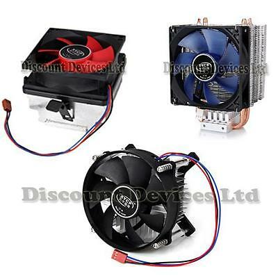 CPU Fan Cooler Intel LGA775/1150/1155/1156 AMD FM1/AM3/AM2+/AM2/939/754
