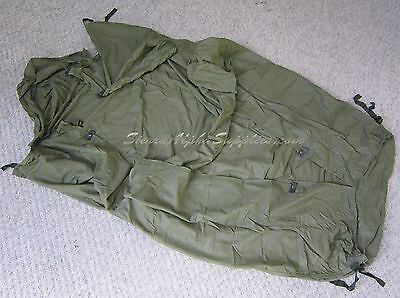 Uk British Army Surplus 58 Pattern Sleeping Bag Liner, Grade 1 Long Short,Maggot