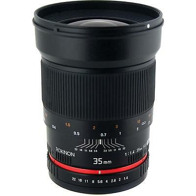 Rokinon 35mm f/1.4 Wide-Angle US UMC Aspherical Lens for Canon New
