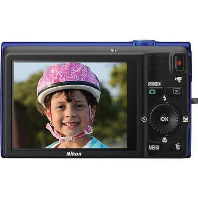 Nikon COOLPIX S6200 16.0 MP Digital Camera - Blue