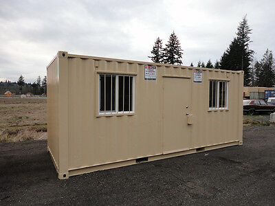 20' Cabin Shipping Container Cargo Container Storage Container in Chehalis, WA