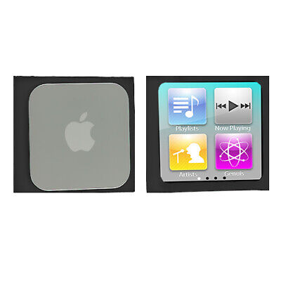 Black Silicone Case Cover Accessory for Apple iPod Nano 6th Gen 6 6G