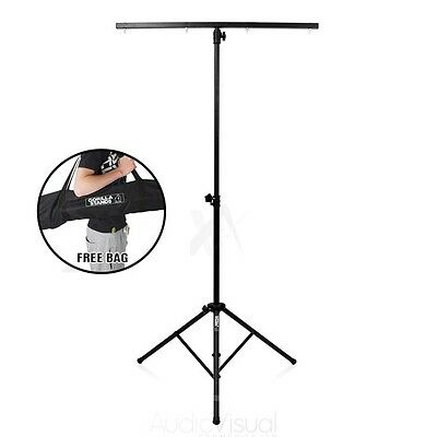 Gorilla GLS-100 T Bar Lighting Stand High Quality Light Weight DJ Disco T-Bar