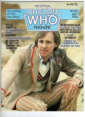 Doctor Who Weekly Magazine  - July 1984 - # 90
