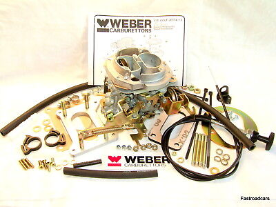 VW GOLF.JETTA 1272cc 1983-90 WEBER 32/34 DMTL CARB/CARBURETTOR REPLACES PIERBURG