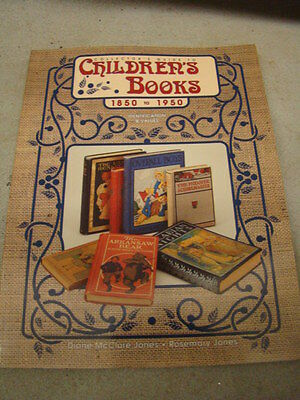 Collector's Guide To Children's Books 1850-1950 By Rosemary Jones Paperback 1997